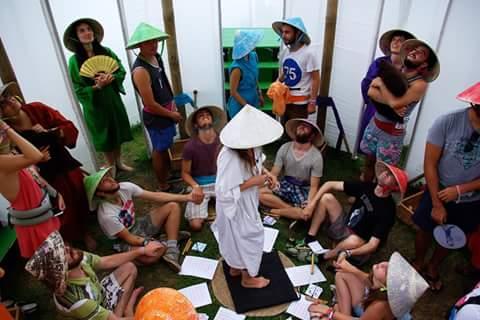 Ji Csing Labirintus a Sziget Fesztiválon